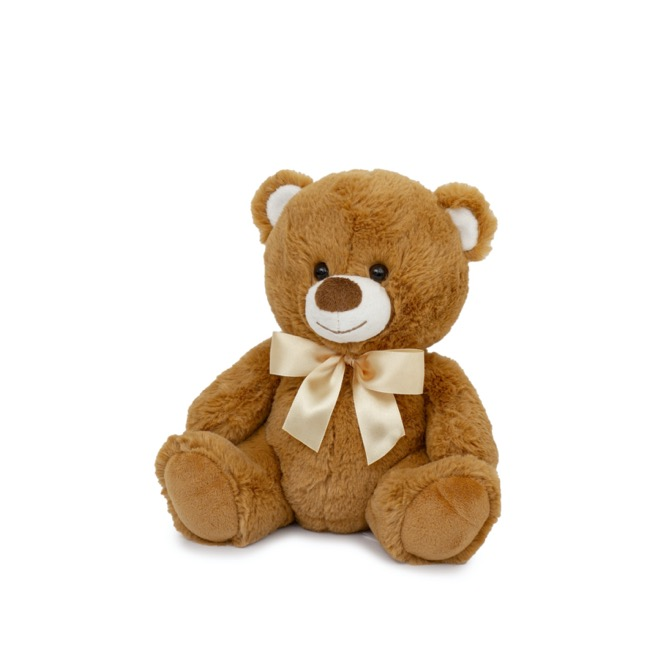 Brown teddy bear 25cm