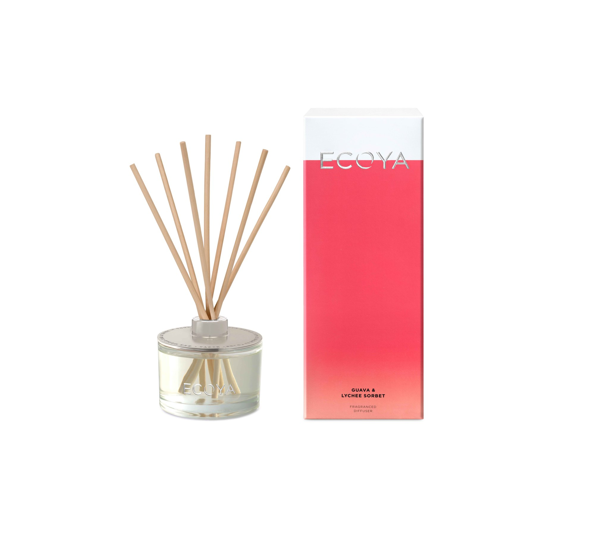 Ecoya guava & lychee sorbet diffuser Melbourne delivery.