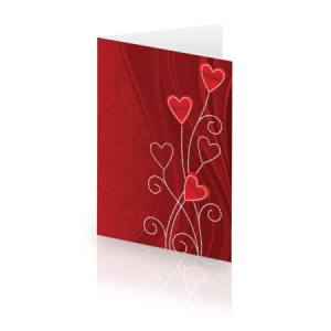 Card with Hearts