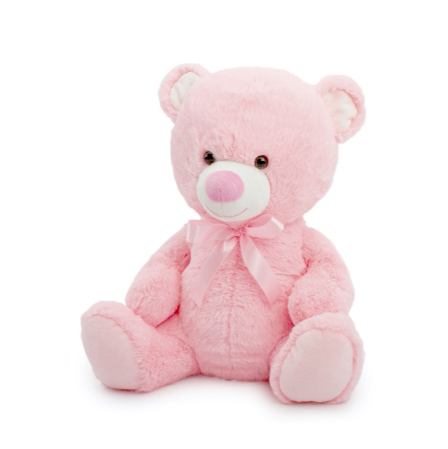 Toby Bear Pink Small